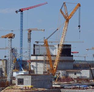 Белорусская АЭС в Островце, архивное фото