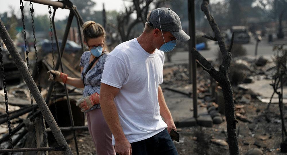 Лесные пожары вКалифорнии: количество погибших возросло  до23 человек