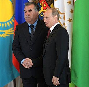 Заседание Совета глав государств СНГ в Сочи