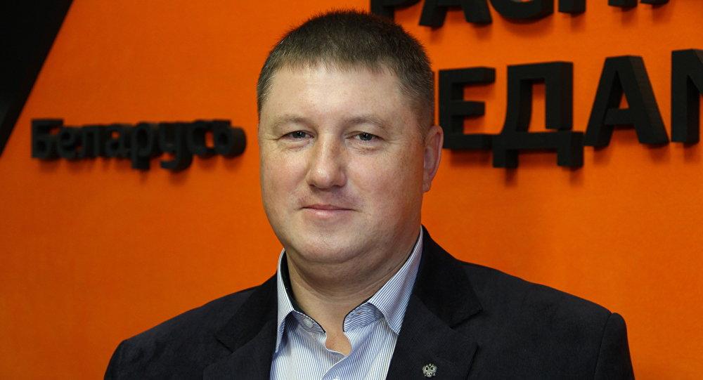 Политический эксперт Алексей Беляев