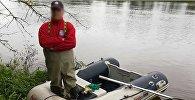 Гидролог из Польши незаконно попал в Беларусь, фото с места событий