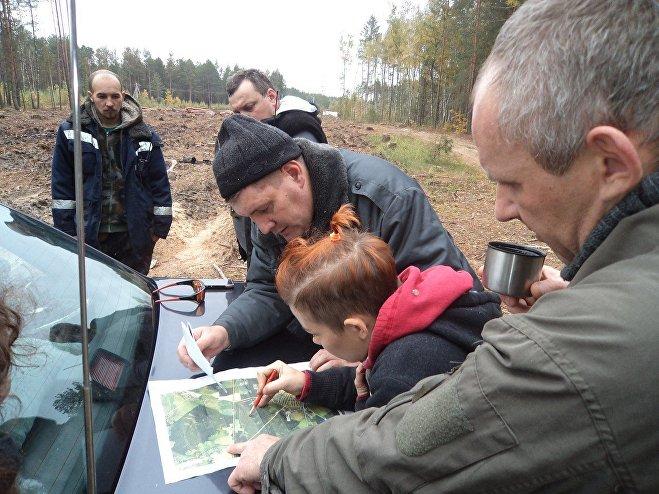 Поиски Степана Хамутовского в Ельском районе