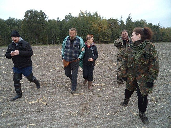 Волонтеры Симурана обнаружили Степана Хамутовского живым в лесу Ельского района