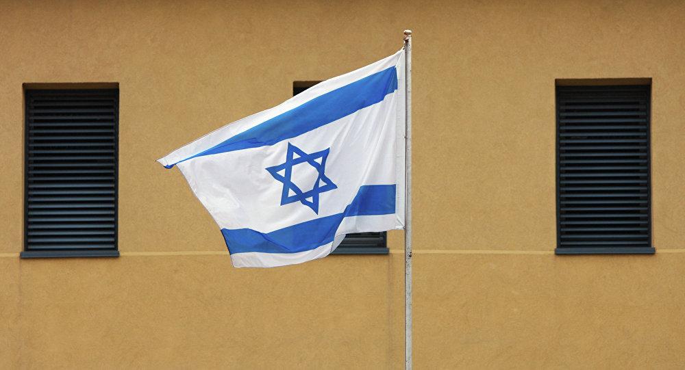 Израильский флаг, архивное фото