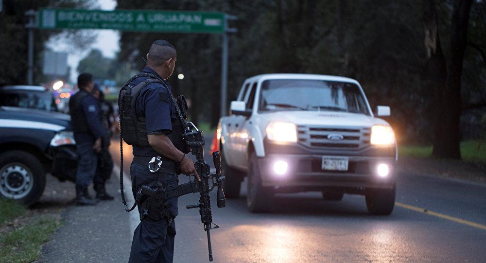 Сотрудники полиции в Мексике, архивное  фото