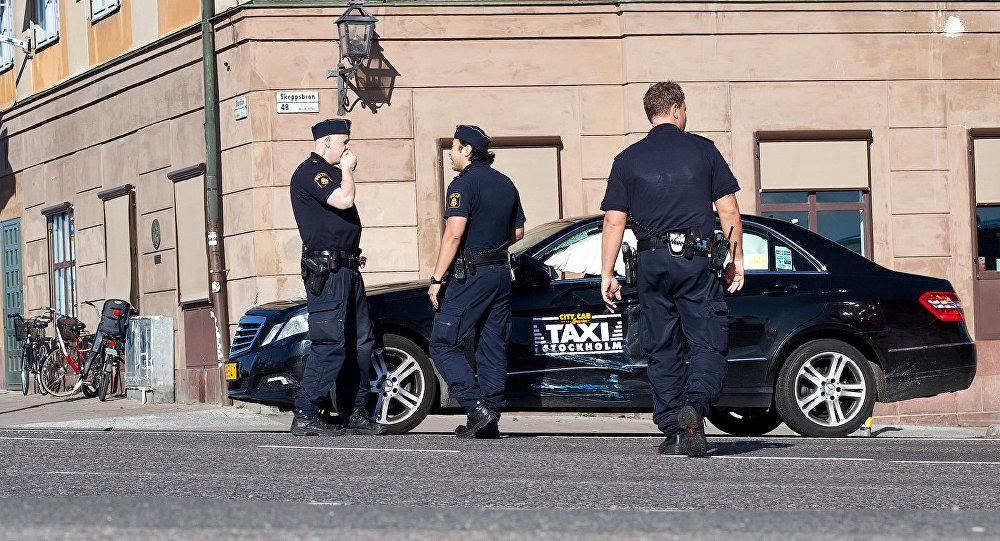 Полиция Стокгольма, архивное фото