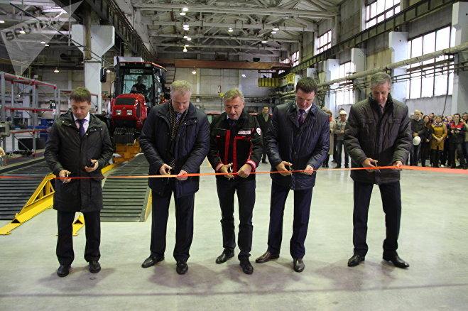 Новый конвейер на ЧЛМЗ руководители отрасли и региона открыли коллегиально