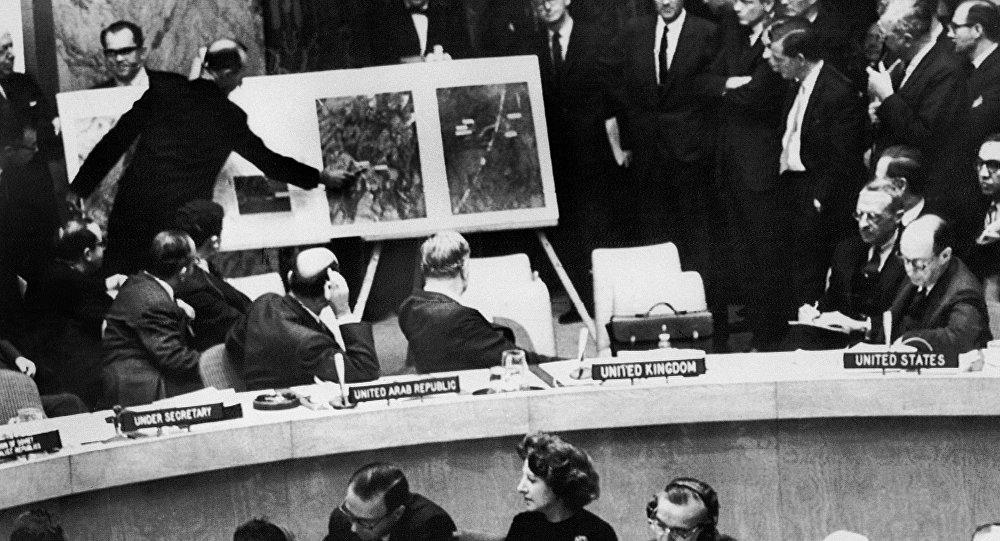 55 лет назад американский самолет-разведчик сделал над Кубой почти тысячу снимков
