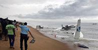 Авиакатастрофа у берегов Кот-д'Ивуар на западе Африки
