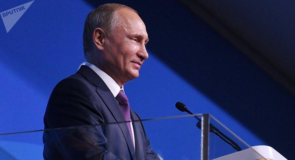 Путин открыл Всемирный фестиваль молодёжи истудентов вСочи