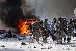 На месте теракта в Могадишо