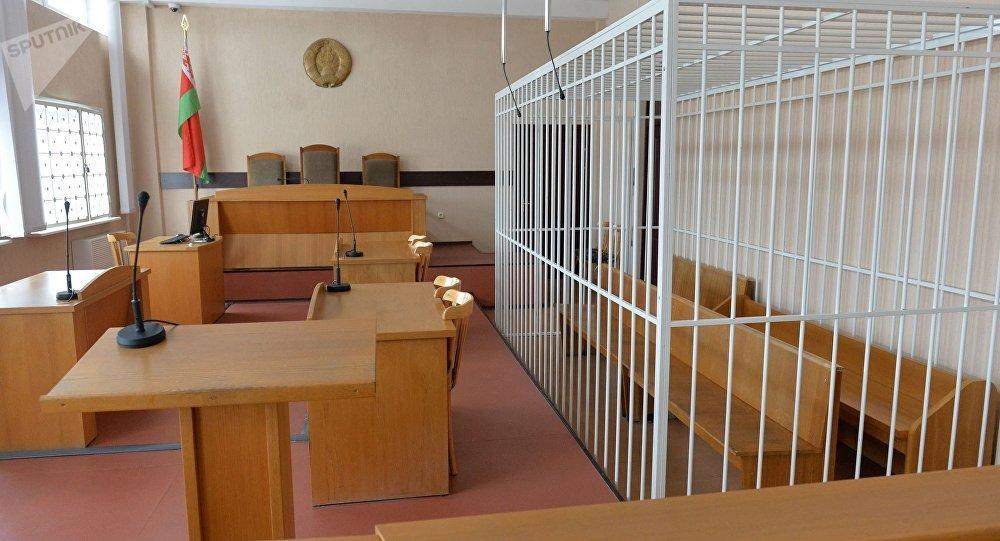 зал суда, архивное фото