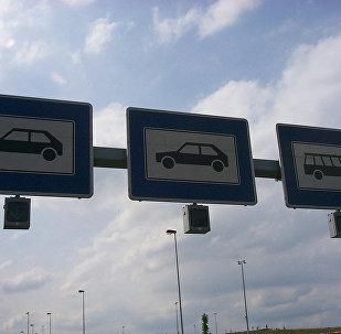 Транспортные коридоры на границе, архивное фото