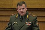 Министр обороны Беларуси Андрей Равков, архивное фото