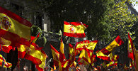 Митинг в защиту единства Испании в Барселоне, архивное фото