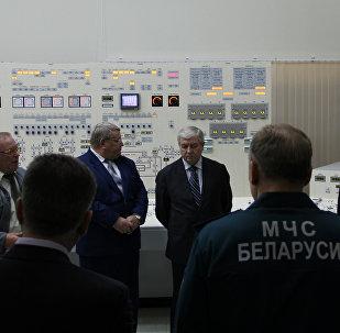 Вице-премьер Беларуси Владимир Семашко подвел итоги планового учения МЧС вместе с Минэнерго