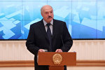 Президент Беларуси Александр Лукашенко на республиканском семинаре о совершенствовании и развитии сферы ЖКХ