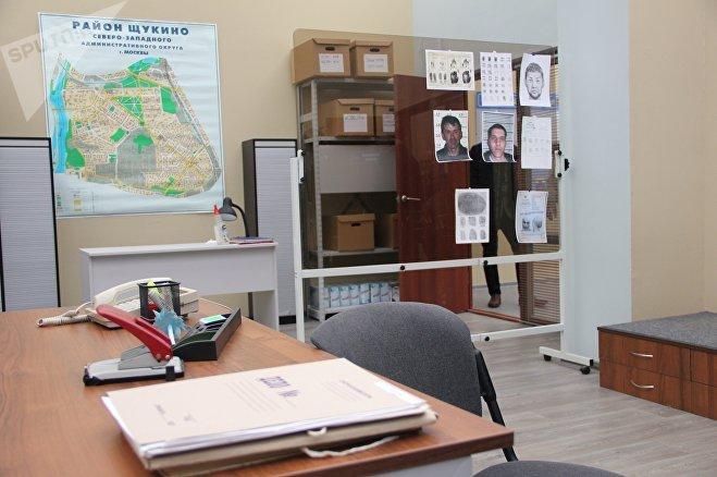 В этих кабинетах работают следователи из Мухтара