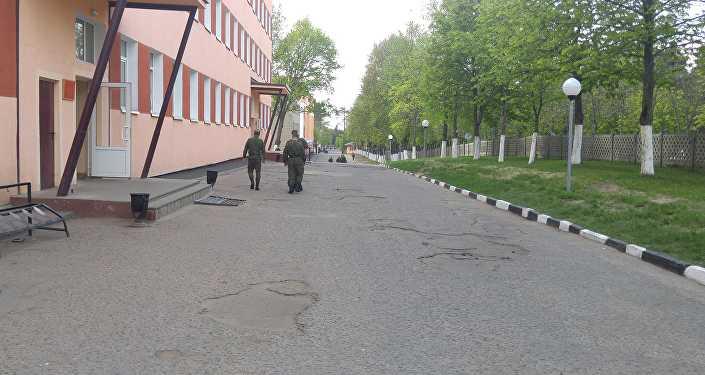 Одна из казарм в Печах, архивное фото