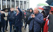 Николай Статкевич, лидер незарегистрированной социально-демократической партии