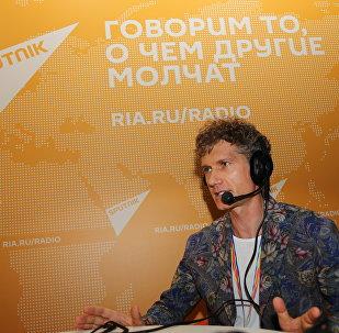 Креативный продюсер XIX Всемирного фестиваля молодежи и студентов Илья Бачурин