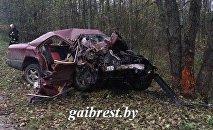 Последствия аварии в Ивацевичском районе