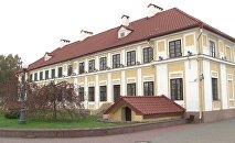Будынак у цэнтры Гродна пабудаваны Антоніем Тызенгаўзам