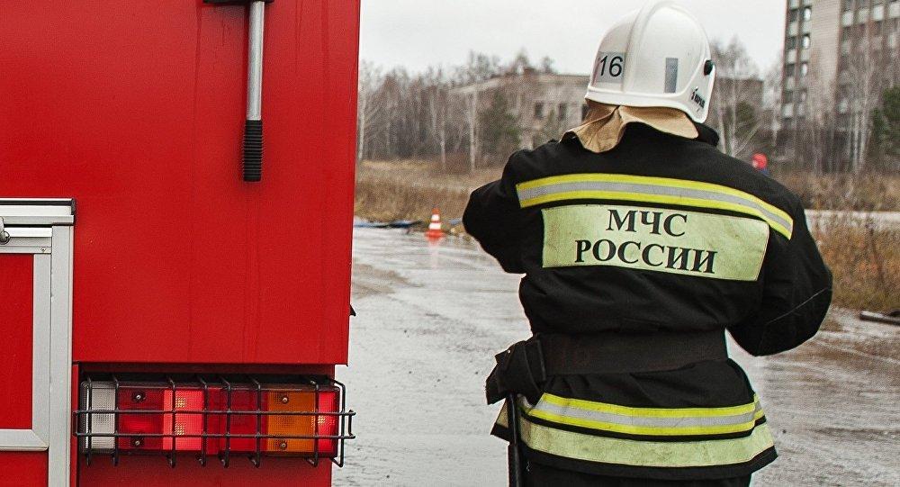 Мощный пожар произошел нарынке под Ростовом-на-Дону