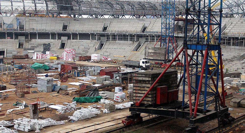 Стадион Динамо - реконструкция 2017 года