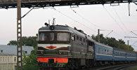 Поезд БЖД. Архивное фото