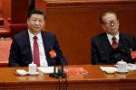 Генеральный секретарь ЦК КПК Си Цзиньпин и экс-генсек Цзян Цзэминь