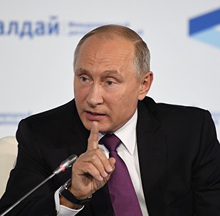 Владимир Путин на форуме Валдай