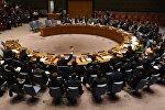 Постпред России в ООН Василий Небензя не голосовал против резолюции по Сирии в Совбезе ООН 24 октября 2017 года