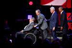 Джордж Буш старший и еще три президента США