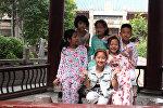 Китайские дети, архивное фото