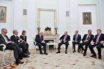 Президент РФ Владимир Путин встретился с президентом ФРГ Франком - Вальтером Штайнмайером