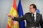 Премьер-министр Испании Мариано Рахой Брей, архивное фото