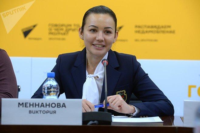 Начальник отдела информации НОК Виктория Меннанова