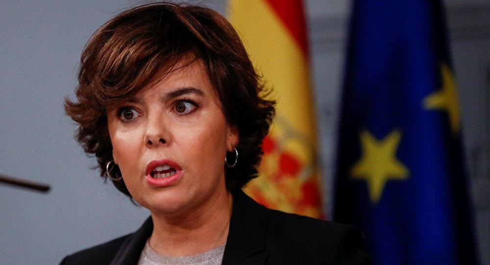 Вице-премьер Испании будет выполнять функции руководителя Каталонии