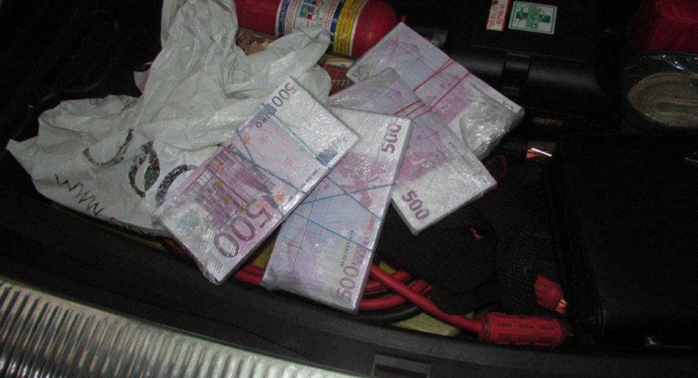 Белорус с €250 тыс. «налички» схвачен награнице вЛитве