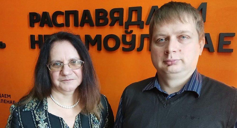 Преподаватели факультета прикладной математики и информатики БГУ Екатерина Пазюра и Алексей Толстиков