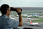Работа авиадиспетчеров, архивное фото
