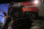 В Оршанском районе спасатели деблокировали пострадавшего в ДТП