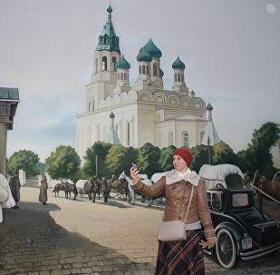 Туристы уже приходят делать селфи в стиле 1915 года