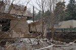 Дом, в котором обрушилось перекрытие и погиб мальчик