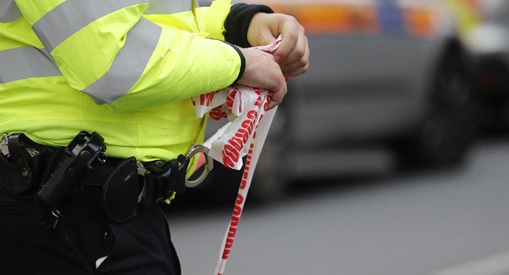 Вцентре Лондона автомобиль такси выехал натротуар: есть пострадавшие