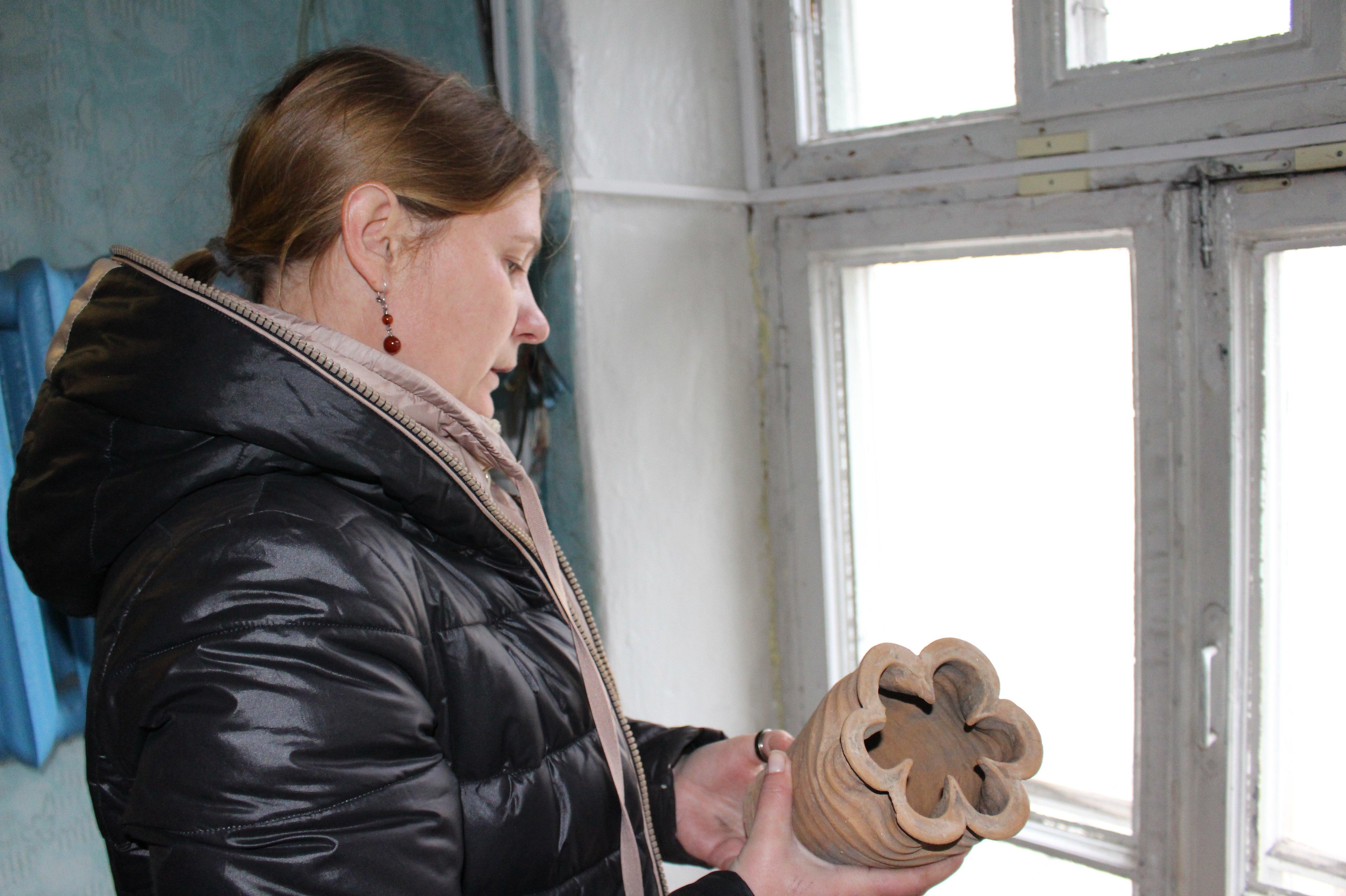 Руководитель археологических раскопок на территории старого Замка в Гродно Наталья Кизюкевич