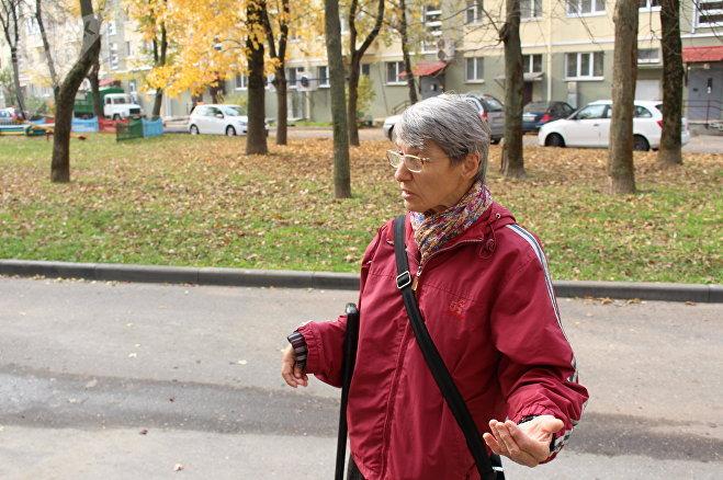 Жительница дома Зоя Шопик