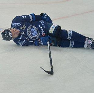 Хоккеист минского Динамо Александр Матерухин