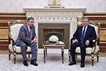 Премьер-министр Республики Беларусь Андрей Кобяков встретился с президентом Узбекистана Шавкатом Мирзиёевым, фото с места событий